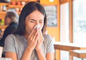 alergias no outono